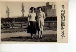AMIGAS EN  MAR DEL PLATA 1953  ARGENTINA  OHL - Personas Anónimos