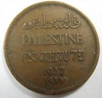 PALESTINE  ISRAEL  1 MIL 1927 COIN LOT 123 - Israel