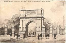 DUBLIN - St. Stephen's Green - Royal Dublin Fusiliers Memorial Arch ++ To Isle Of Man, 1907 +++ Sibley & Co., Dublin +++ - Dublin