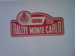 Rare Mini Plaque Anniverssaire - Plaques De Rallye