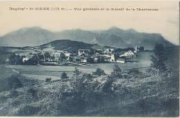 Cpa   38 Isere Saint Nizier Vue Generale  Et Le Massif De La Chartreuse - Altri Comuni