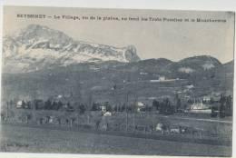 Cpa  38 Isere  Seyssinet Le Village Vu De La Plaine - France