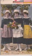 CARNET TYPES ET COSTUMES BRETONS ( 20 CARTES) - Costumi