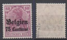 Belgien,6bZa,postfrisch,gep.BPP - Besetzungen 1914-18