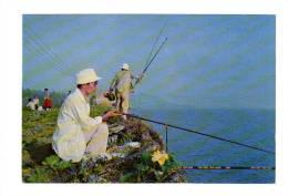 Chine: Angling By Lake Taihu, Wuxi, Peche, Pecheur (12-3656) - Chine