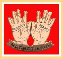 SUPER PIN´S Médical : Mains De MAGNETISEUR Peu Courant émaillé Grand Feu - Medizin