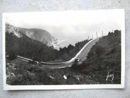CORRESPONDANCE DATEE ? CARTE POSTALE COTE D´AZUR ROUTE DE LA GRANDE CORNICHE BON ETAT GENERAL - Provence-Alpes-Côte D'Azur
