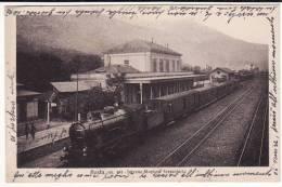 Aosta - Stazione Ferroviaria  Interno Treno - Aosta