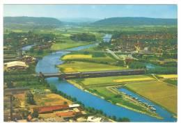 C1494 Minden - Blick Uber Das Wasserstrassenkreuz - Mittellandkanal / Non Viaggiata - Minden