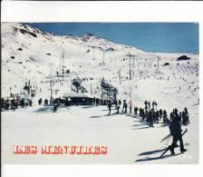 CPM  Des MENUIRES  (73)  -  Arrivée Des Pistes  //  TBE - France