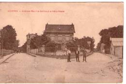 Achères..animée..avenue Maurice Berthaud..avenue Félix-Faure - Acheres