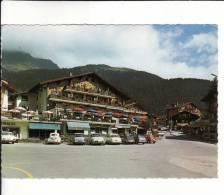 CPSM  Dentelée De  VERBIER  (VS)  -  La Place Centrale   //  TBE - VS Valais