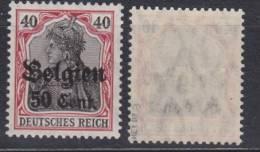 Belgien,20a,postfrisch,gep. - Besetzungen 1914-18