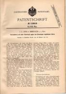 Original Patentschrift - J.G. Lieb In Biberach A.d. Riss , 1901 , Kerzenlaterne , Laterne !!! - Lampen