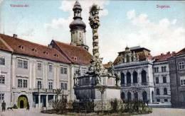 Ungarn, SOPRON Vàroshàz-ter., Gelaufen 1926 - Hongrie