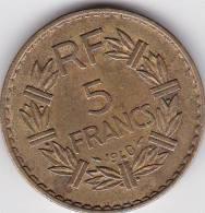 FRANCE - PIECE DE 5 FRANCS - 1940 - France