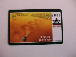 Bank/Banque/Banco Caixa De Crédito Agricola Mutuo Portuguese Pocket Calendar 2000 - Calendriers