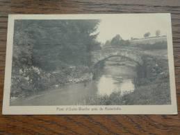 Pont D'Outre-Warche Prè De Robertville - Anno 1930 ( Zie Foto´s Voor Details ) !! - Waimes - Weismes