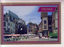 10 TROYES  Lot De 5 Cartes Postales écrites - Troyes