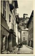 73 / SAINT MICHEL DE MAURIENNE . UNE PETITE RUE . ET LA TOUR CHAMBARLET - Saint Michel De Maurienne