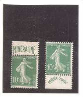 FRANCE MINERALINE ET PHENA X  COTE 545€ - Collections