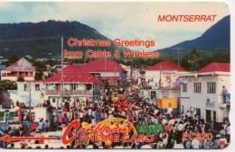 - MONTSERRAT - CHRISTMAS GREETINGS - 5 CMTA 000559 - USED - 2.250 EX ONLY !!!