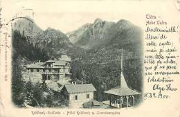 Réf : L-12-0681   :  Slovaquie Tatra Hohe Tarta  Kohlbach Szalloda - Slovakia