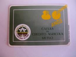 Bank/Banque/Banco Caixa De Crédito Agricola Mutuo  Portuguese Pocket Calendar 1991 - Formato Piccolo : 1991-00