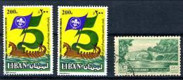 1965 - LIBANO - LEBANON - Scott Nr. 255 - 475 - 475 - Mi. 434 + 2x1309 - Used - (S27082012...) - Libano