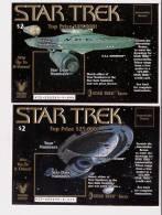 Star Trek - Set Of 4 Virginia Lottery Tickets - Voyager - Deep Space Nine - Enterprise D - Enterprise - Lottery Tickets