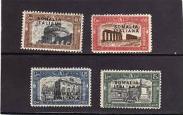 SOMALIA 1927 MILITIA 1 MILIZIA I  SERIE COMPLETA MNH - Somalia