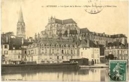 89/ CPA - Auxerre - Les Quais De La Mairie - Auxerre