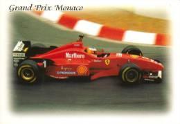 Monaco Grand Prix  -  Ferrari  -  Michael Schumacher  -  Carte Postale - Grand Prix / F1