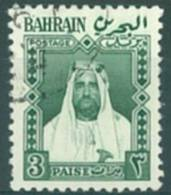BAHREIN - USED/OBLIT.  - 1957 - CHEIKH ISA BEN SALMAN AL-KHALIFA  - Yv 110 - Lot 6742 - Bahreïn (1965-...)