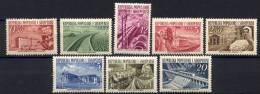 Albania 1953 Y.T. 454/61 */MH VF - Albania