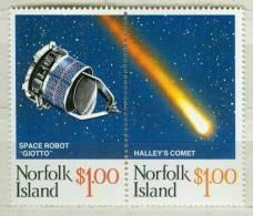 Norfolk Island MNH Set - Space