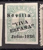Spain Sevilla Edifil # 18 (*) MNG - Emisiones Nacionalistas