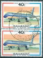 BAHAMAS - USED/OBLIT.  - 1987 - BOEING 757 - Yv PA 12 - Lot 6745 - Bahamas (1973-...)