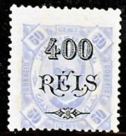 !■■■■■ds■■ Zambezia 1902 AF#39(*) 1902 Surcharges 400/50 12,5 Mint (D0160) - Zambèze