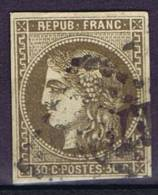 France: Yv 47, Mi 42, Oblitéré/cancelled, Bonne Centralisée,