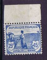 France: Yv 151 M 131  Timbres=Neuf **/MNH, Borde = MH