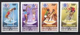 Camerun 1984 Y.T. A323/26 **/MNH VF - Camerún (1960-...)