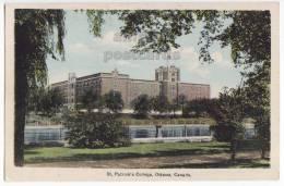 ST PATRICK's COLLEGE ~OTTAWA ONTARIO ~c1930s Vintage Postcard~CANADA~UNIVERSITY BUILDING [s4466] - Ottawa