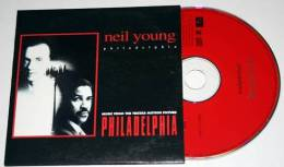 NEIL YOUNG : Philadelphia * CD Single 3 Tracks - Rock