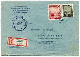 Reko Zensur Brief KAPRUN Nach HIRTENBERG 3. 7. 1946 (013) - 1945-60 Briefe U. Dokumente