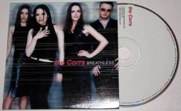 THE CORRS : Breathless / Head In The Air * CD Single - Rock