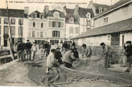 LE CROISIC (44) Quai Réparation Des Filets Gros Plan - Le Croisic