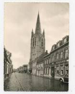 Poperinge :  Casselstraat En OLV Kerk  (  Groot Formaat )    VW KEVER - Poperinge