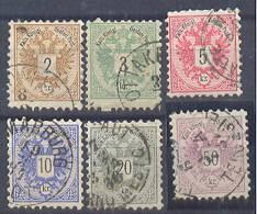 Austria Perforation 9 1/2 1883 USED - 1850-1918 Imperium