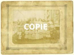 Photo De Classe 1893 1895 école Des Filles Primaire CHALONVILLARS 70400 Haute-Saône 70 Tirage Argentique W Morche-Fimbel - Photos